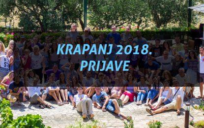 Prijave za Krapanj 2018. – otvoren dodatni obiteljski termin!