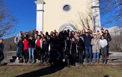 Formacija i doček Nove godine na Baškim Oštarijama