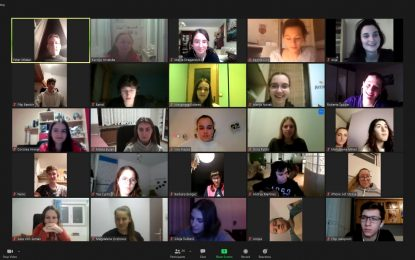 Osvrt na prvi formalni Zoom susret srednjoškolaca (27.01.2021.)